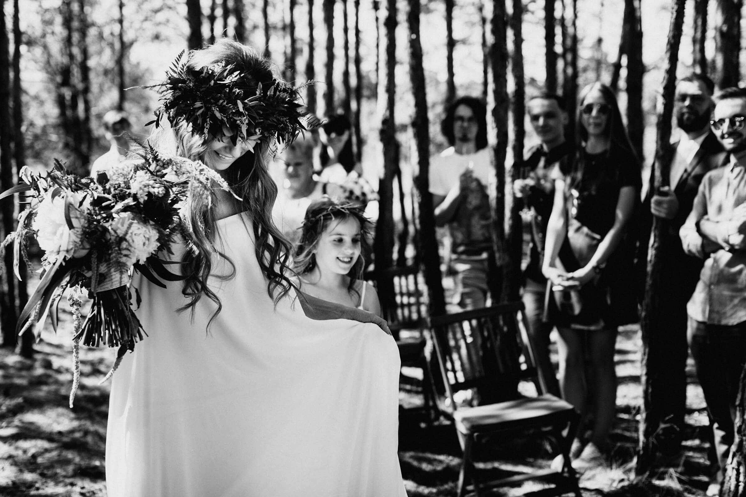 """WEDDING IN THE WOODS"" ДИМА И НАСТЯ фото AD 388"