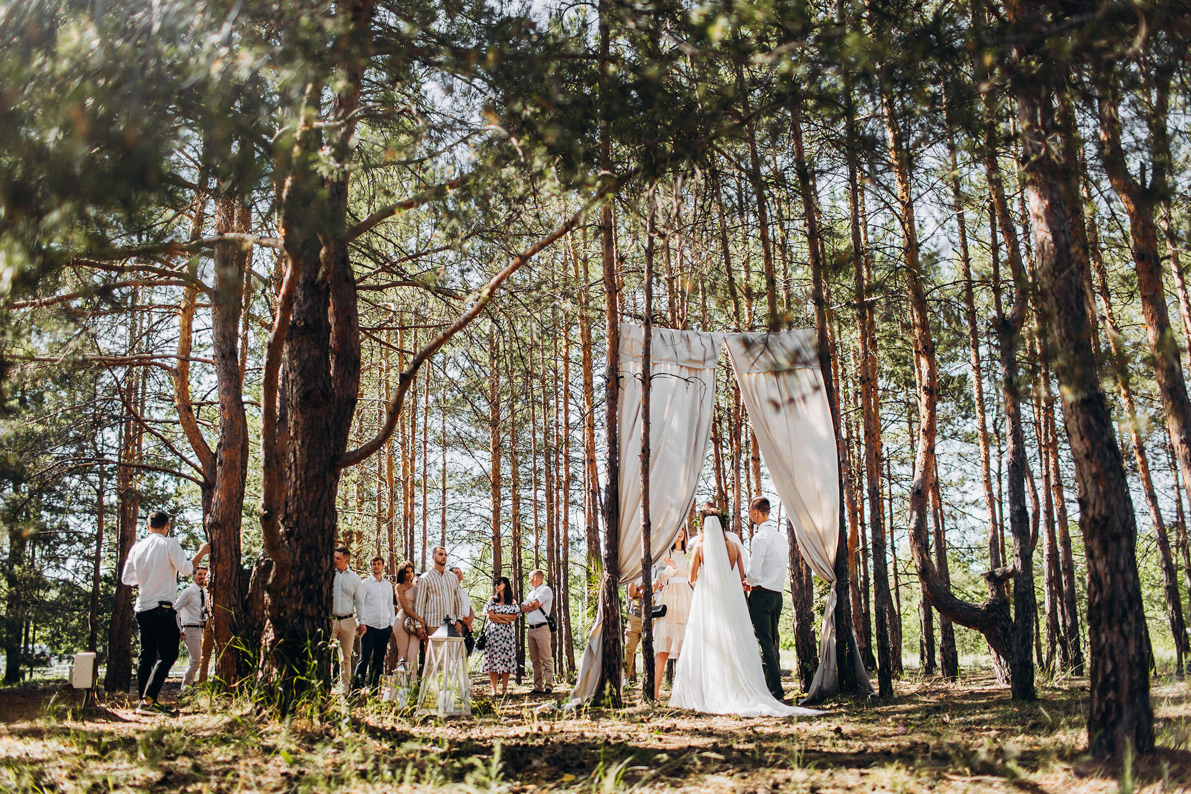 """WEDDING IN THE WOODS"" ДИМА И НАСТЯ фото AD 431"