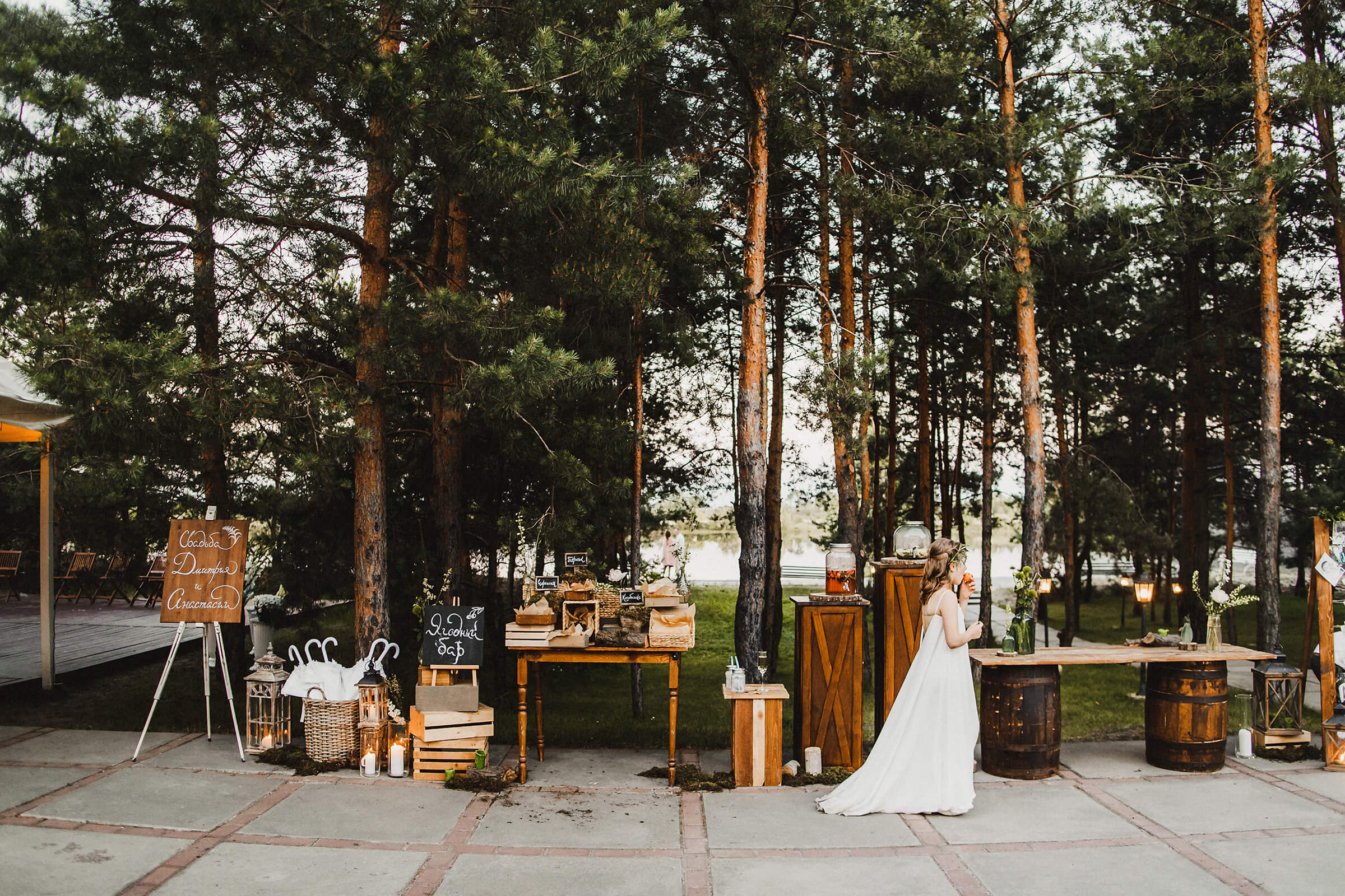 """WEDDING IN THE WOODS"" ДИМА И НАСТЯ фото AD 953"