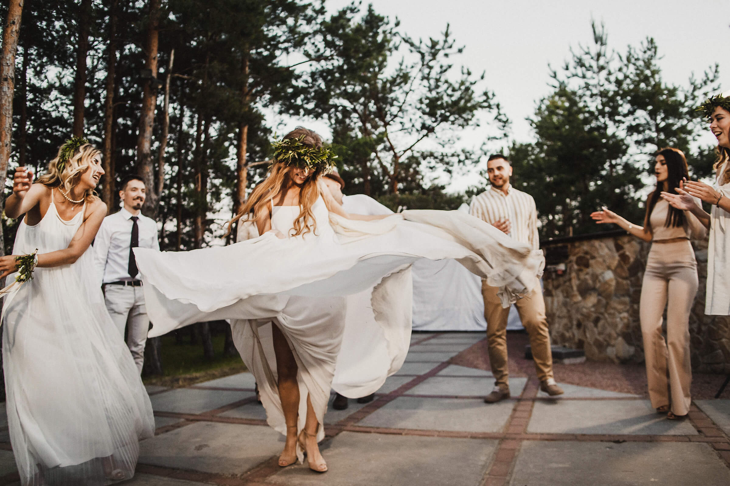 """WEDDING IN THE WOODS"" ДИМА И НАСТЯ фото AD 970"