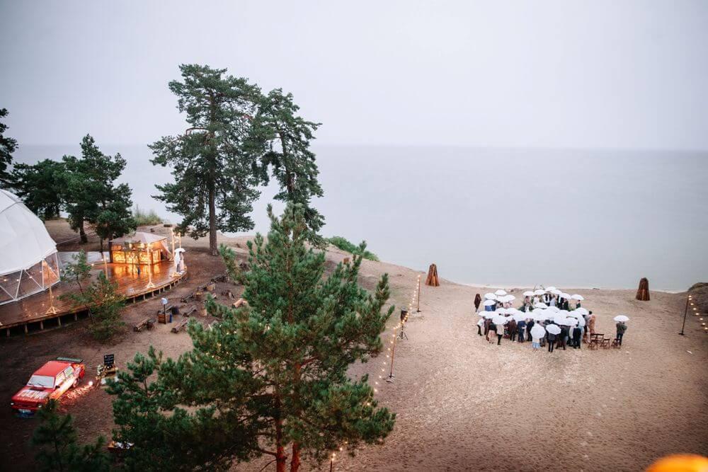 "СВАДЬБА НА МОРЕ ""BEACH WEDDING PARTY"" ДЕНИС И ОЛЯ"
