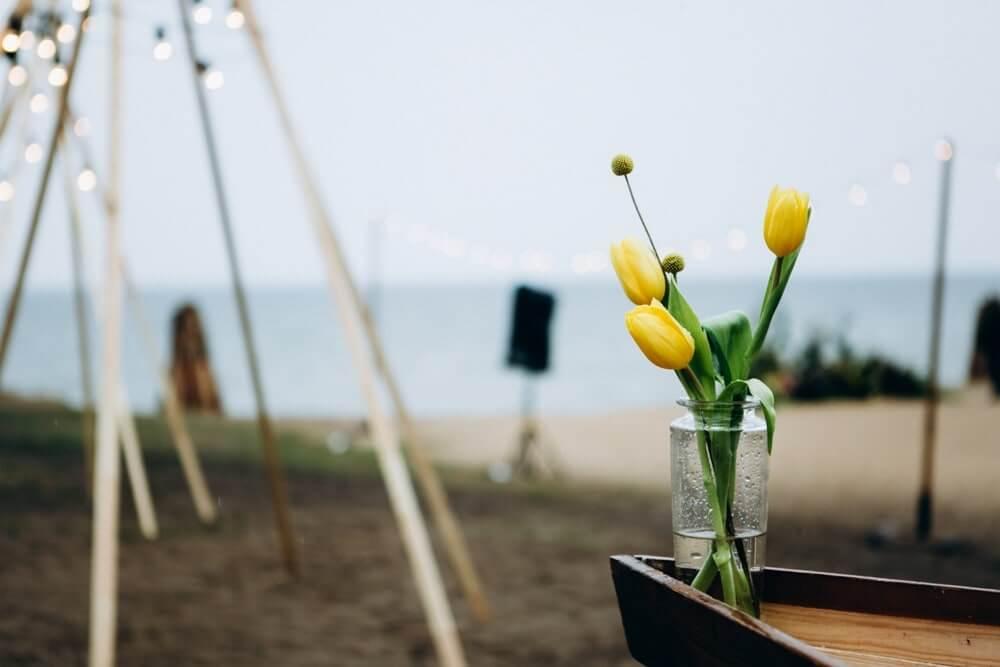 """СВАДЬБА НА МОРЕ """"BEACH WEDDING PARTY"""" ДЕНИС И ОЛЯ фото Wedding 360 min"""