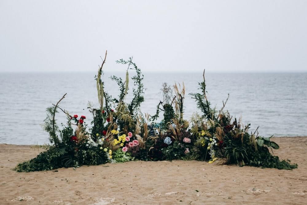 """СВАДЬБА НА МОРЕ """"BEACH WEDDING PARTY"""" ДЕНИС И ОЛЯ фото Wedding 370 min"""