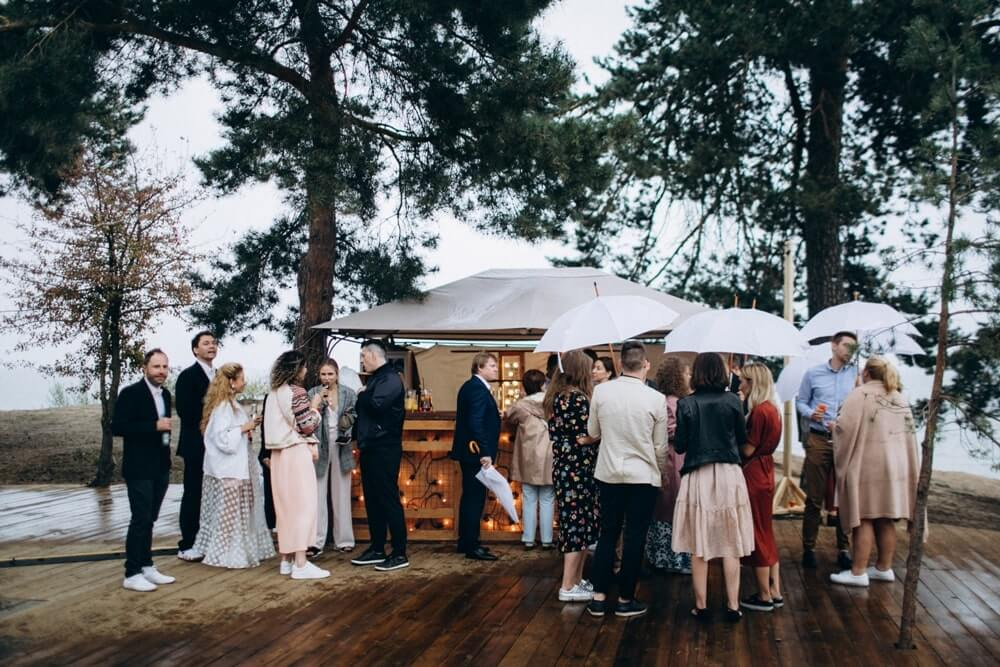 """BEACH WEDDING PARTY"" ДЕНИС И ОЛЯ фото Wedding 393 min"