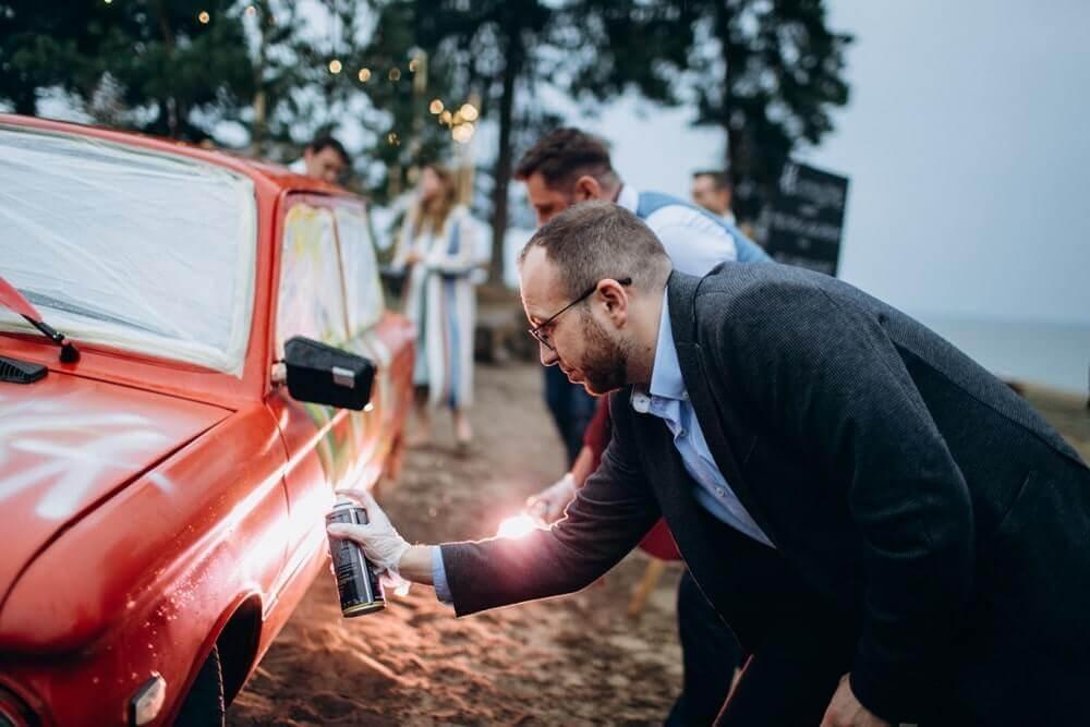 """СВАДЬБА НА МОРЕ """"BEACH WEDDING PARTY"""" ДЕНИС И ОЛЯ фото Wedding 604 min"""