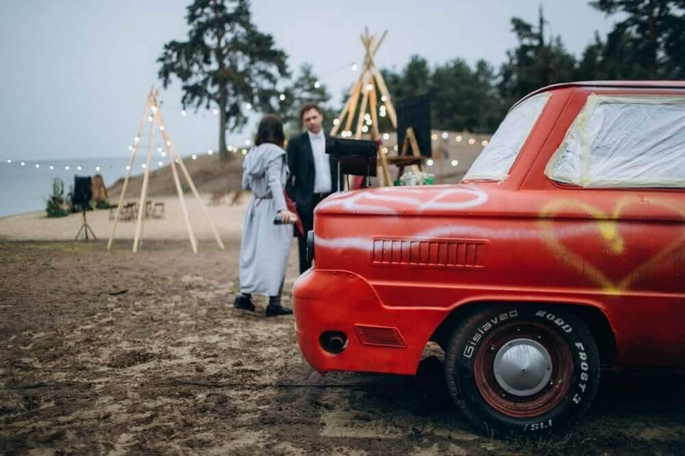 """СВАДЬБА НА МОРЕ """"BEACH WEDDING PARTY"""" ДЕНИС И ОЛЯ фото Wedding 610 min"""