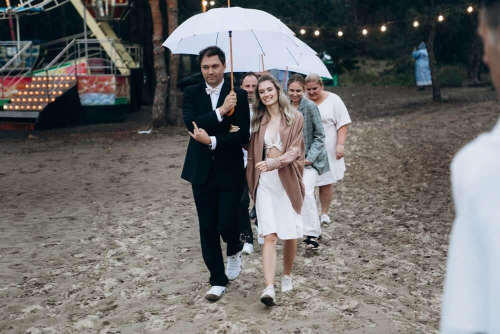 """СВАДЬБА НА МОРЕ """"BEACH WEDDING PARTY"""" ДЕНИС И ОЛЯ фото Wedding 622 min"""