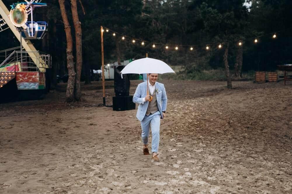 """СВАДЬБА НА МОРЕ """"BEACH WEDDING PARTY"""" ДЕНИС И ОЛЯ фото Wedding 629 min"""