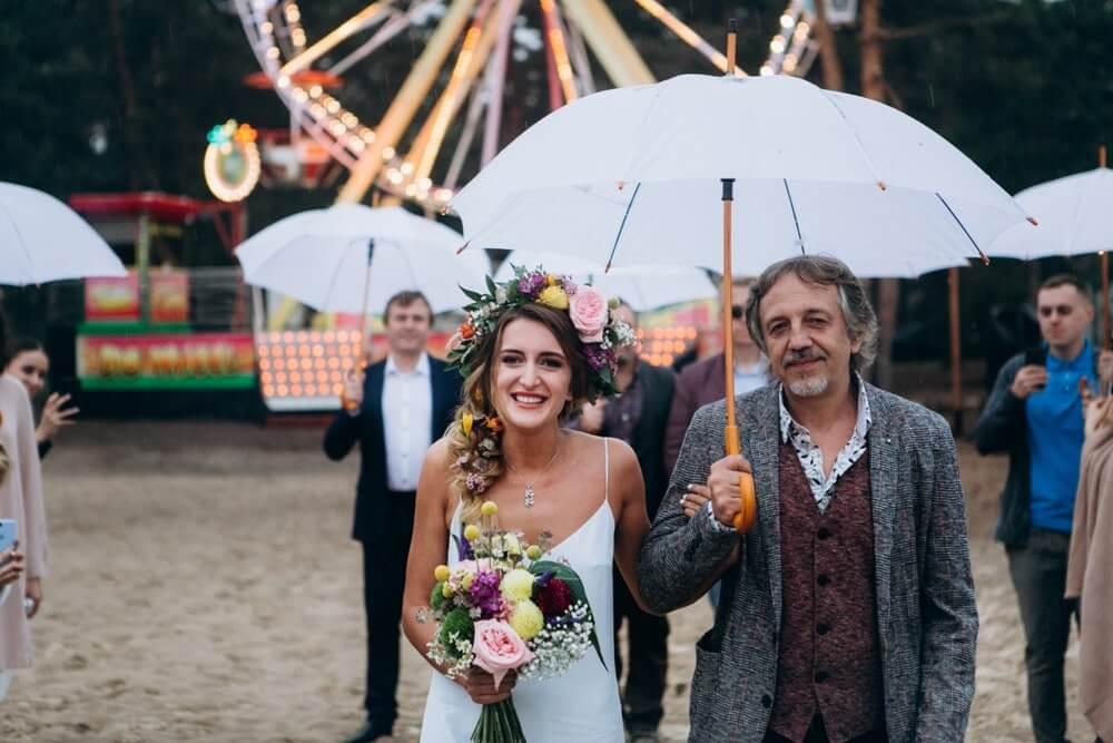 """СВАДЬБА НА МОРЕ """"BEACH WEDDING PARTY"""" ДЕНИС И ОЛЯ фото Wedding 645 min"""