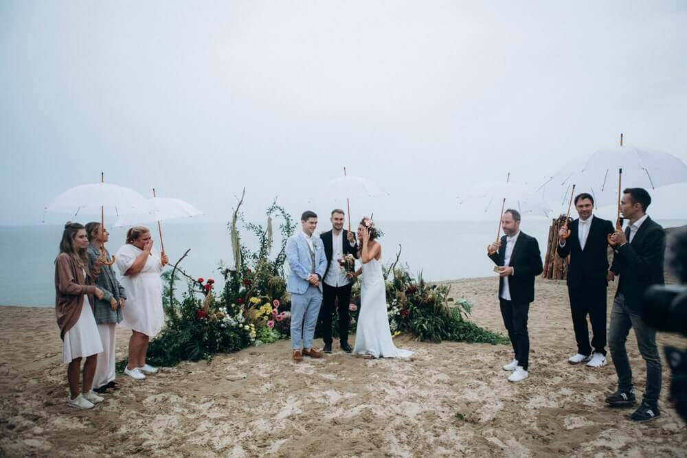 """BEACH WEDDING PARTY"" ДЕНИС И ОЛЯ фото Wedding 666 min"