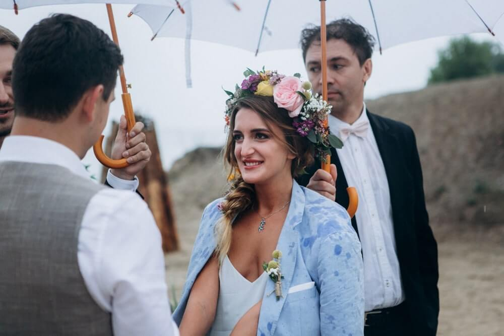 """СВАДЬБА НА МОРЕ """"BEACH WEDDING PARTY"""" ДЕНИС И ОЛЯ фото Wedding 676 min"""