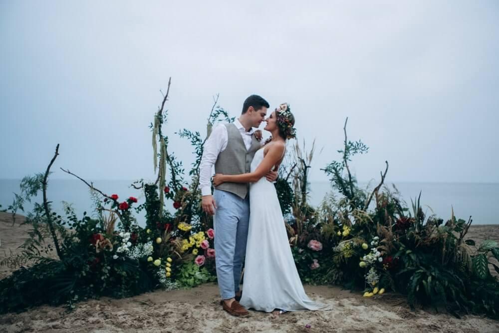 """СВАДЬБА НА МОРЕ """"BEACH WEDDING PARTY"""" ДЕНИС И ОЛЯ фото Wedding 718 min"""