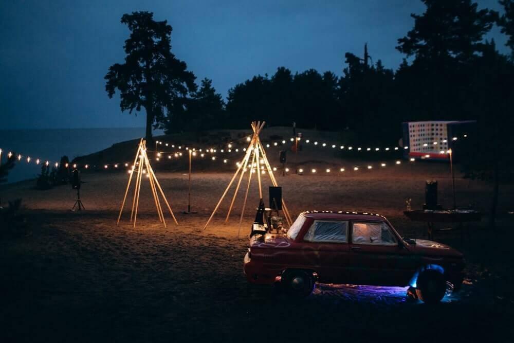 """СВАДЬБА НА МОРЕ """"BEACH WEDDING PARTY"""" ДЕНИС И ОЛЯ фото Wedding 724 min"""