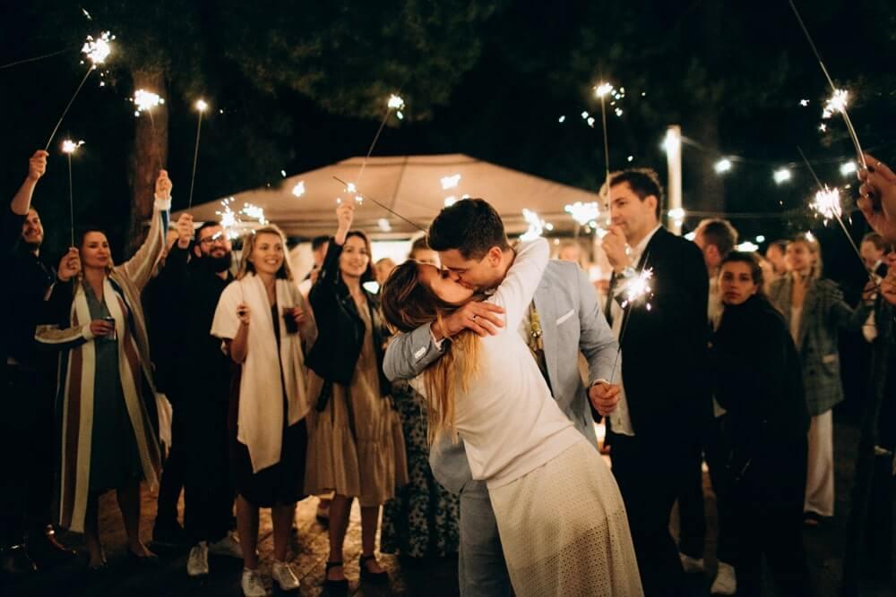 """СВАДЬБА НА МОРЕ """"BEACH WEDDING PARTY"""" ДЕНИС И ОЛЯ фото Wedding 895 min"""