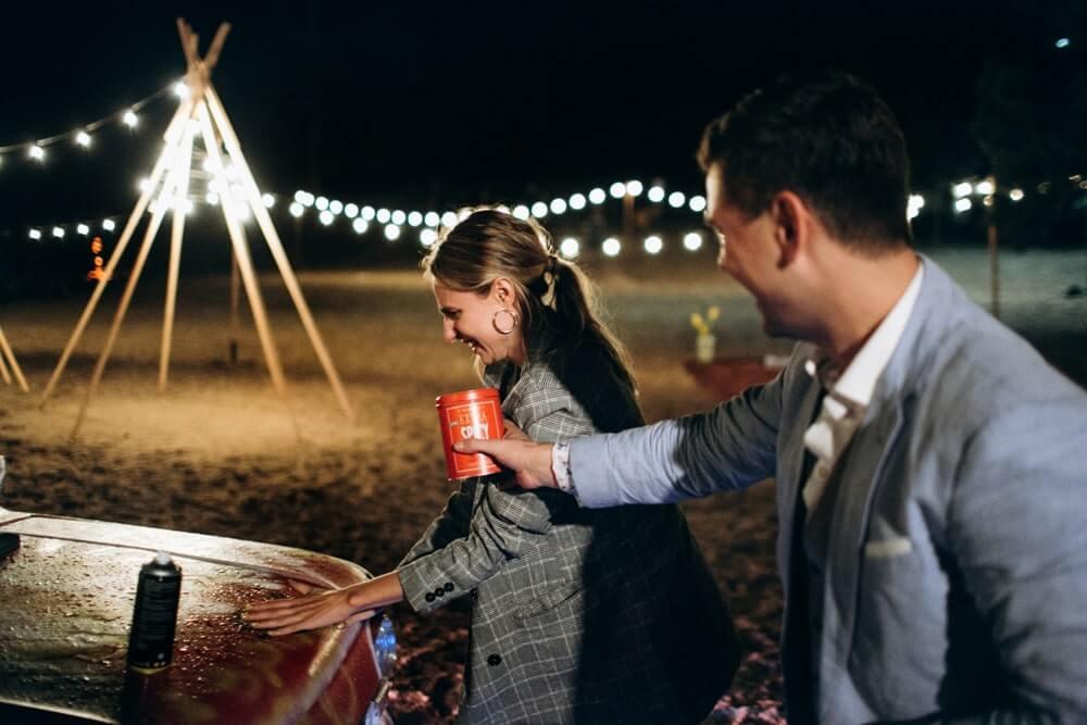 """СВАДЬБА НА МОРЕ """"BEACH WEDDING PARTY"""" ДЕНИС И ОЛЯ фото Wedding 936 min"""