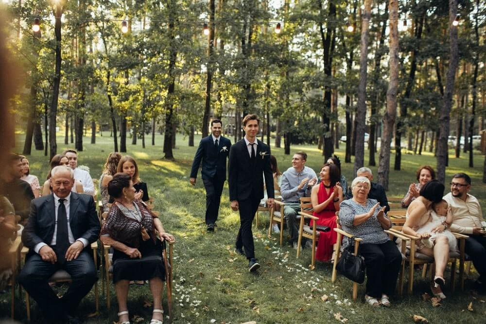 """ELEGANT FOREST WEDDING"" ПАША И АЛЕНА фото IMG 245 min"