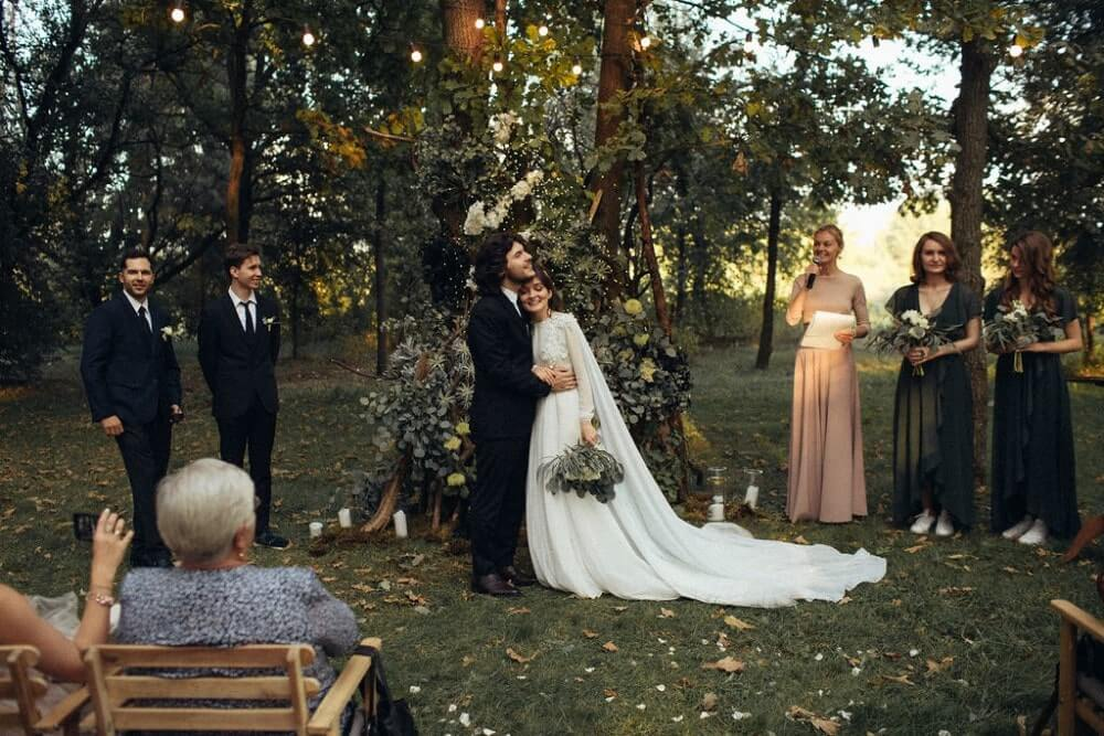 """ELEGANT FOREST WEDDING"" ПАША И АЛЕНА фото IMG 420 min"
