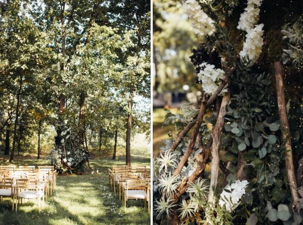 """ELEGANT FOREST WEDDING"" ПАША И АЛЕНА фото IMG 71 min"